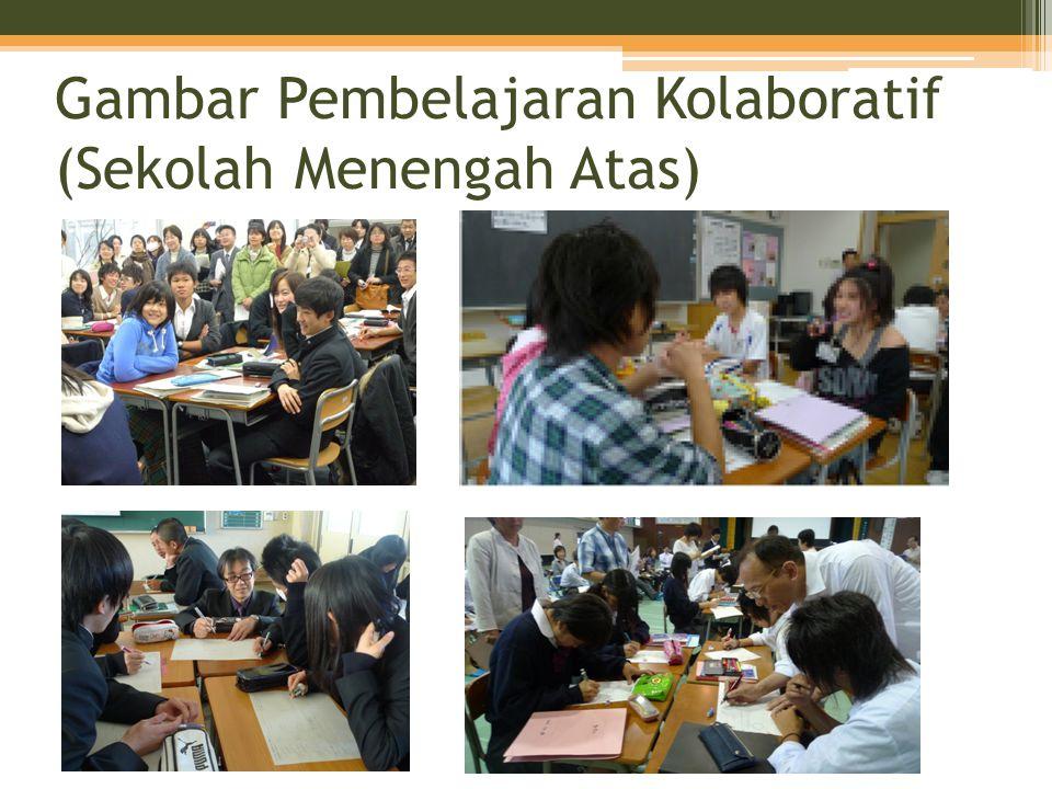 Gambar Pembelajaran Kolaboratif (Sekolah Menengah Atas)