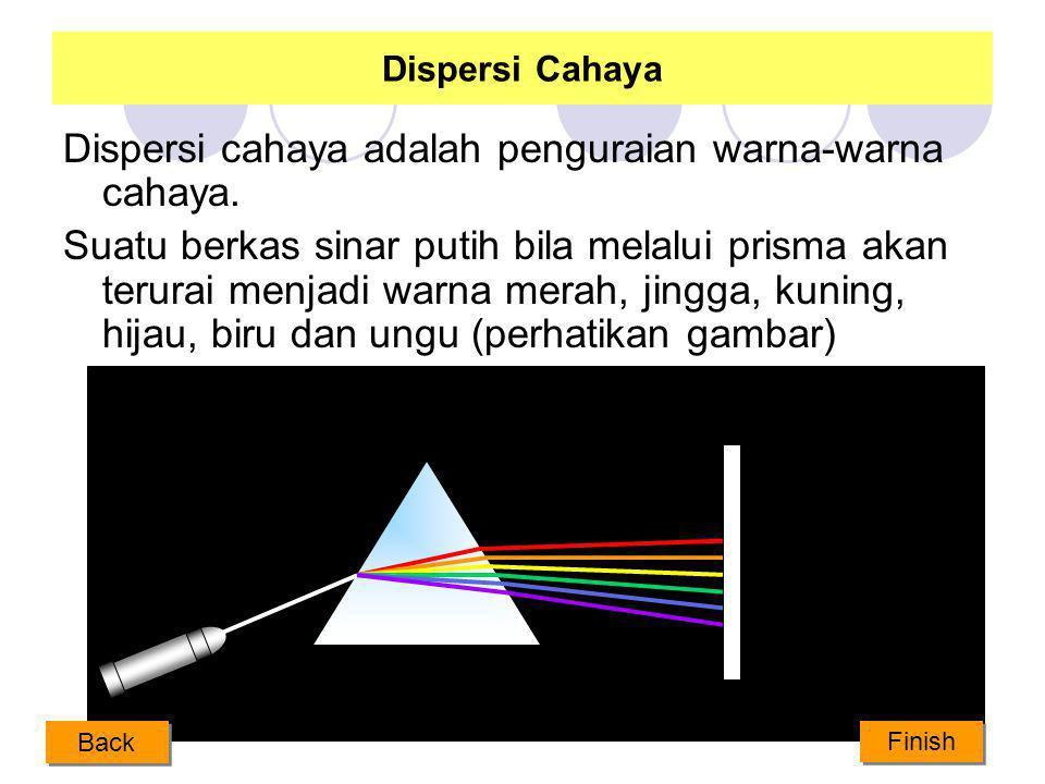 Pembiasan pada Prisma r r disebut sudut deviasi Prisma adalah benda optik berbentuk segitiga atau piramit Next