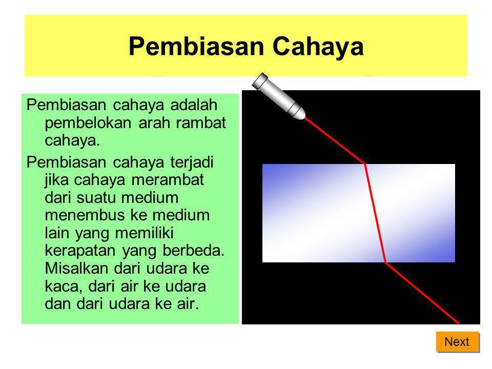 Perhitungan cacat mata Cacat mata dapat dibantu dengan menggunakan kacamata. Kacamata yang tepat dapat di hitung dengan persamaan: = + 1 1 1 f s s' Ke