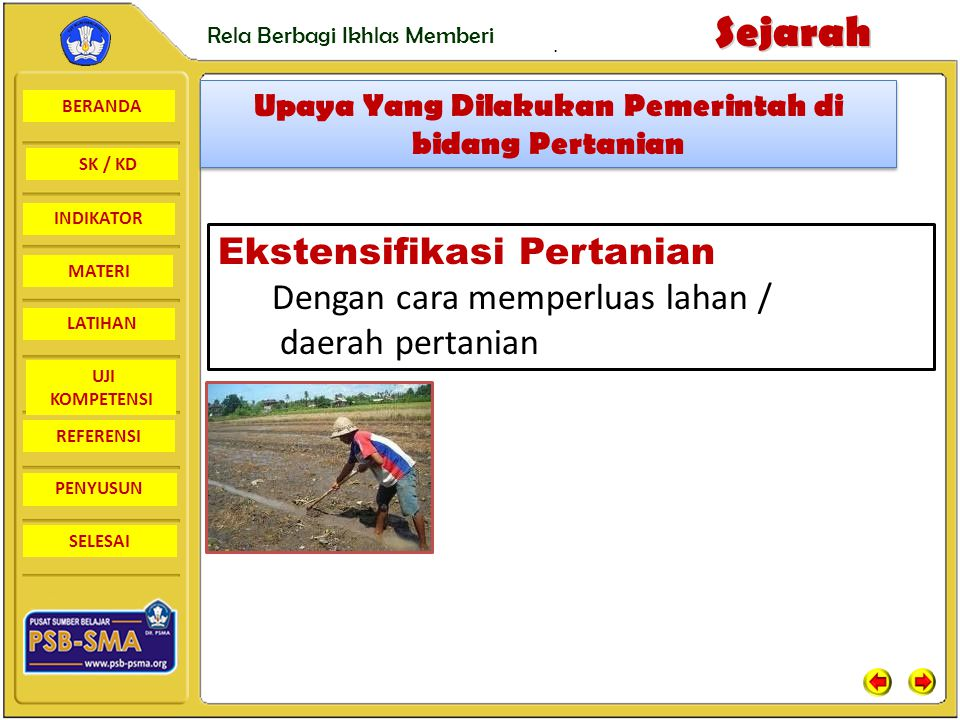 BERANDA SK / KD INDIKATORSejarah Rela Berbagi Ikhlas Memberi MATERI LATIHAN UJI KOMPETENSI REFERENSI PENYUSUN SELESAI.