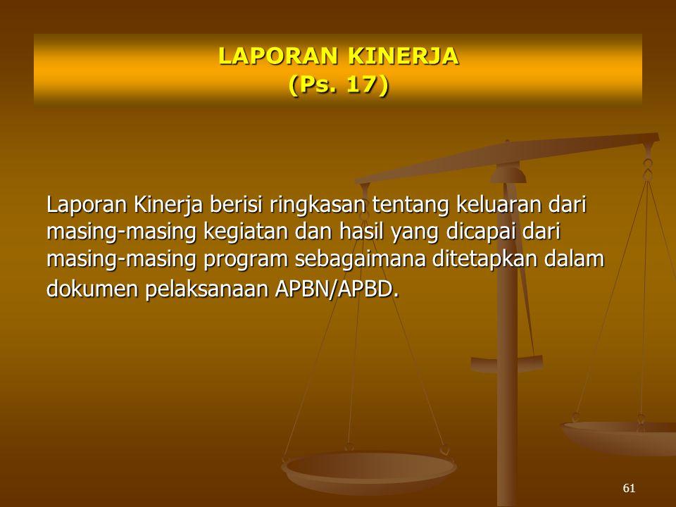61 LAPORAN KINERJA (Ps.