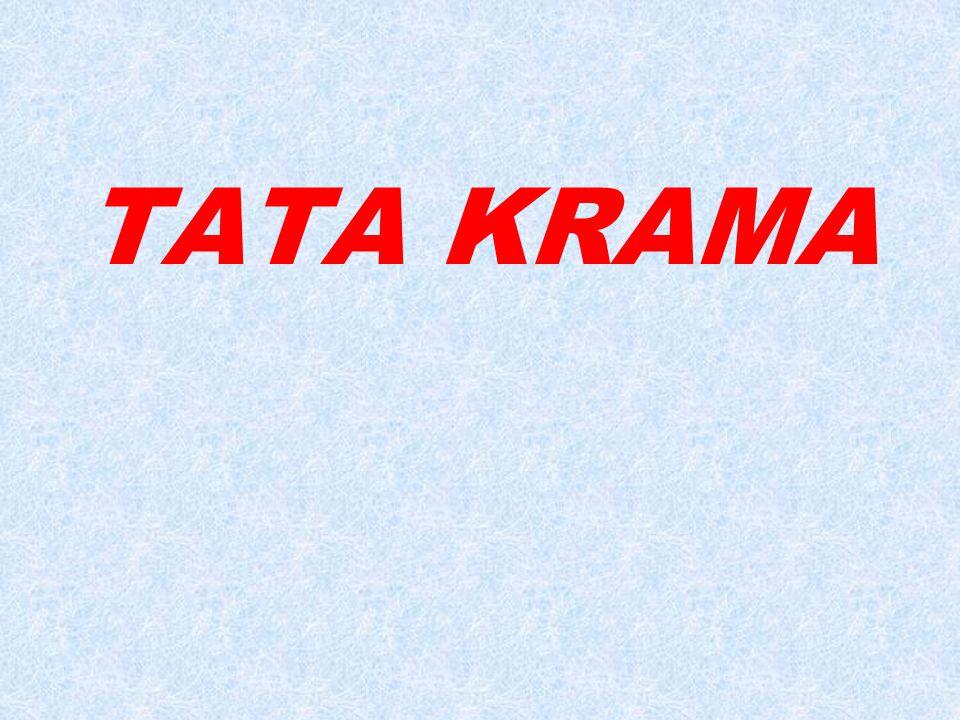  Tata: aturan / kaidah / susunan  Krama: ragam hormat  Tata krama: aturan / kaidah sopan santun 20/06/2014 Tata Krama & Tata Tertib smpk angelus custos5