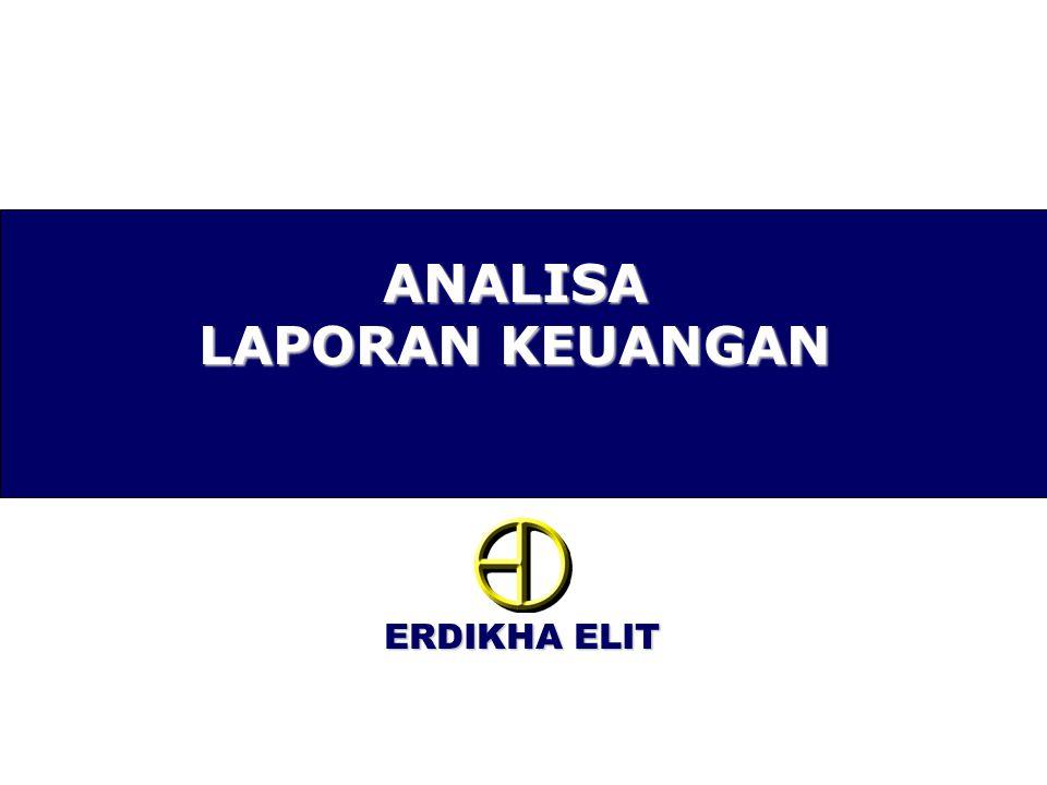 ERDIKHA ELIT Horizontal analysis •Cara analisa laporan keuangan dengan melihat persentase perubahan dalam instrumen laporan keuangan pada periode tertentu.
