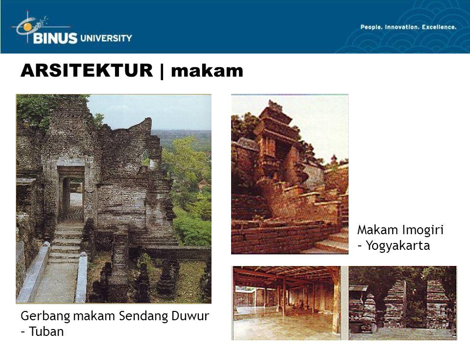 Gerbang makam Sendang Duwur – Tuban ARSITEKTUR | makam Makam Imogiri – Yogyakarta