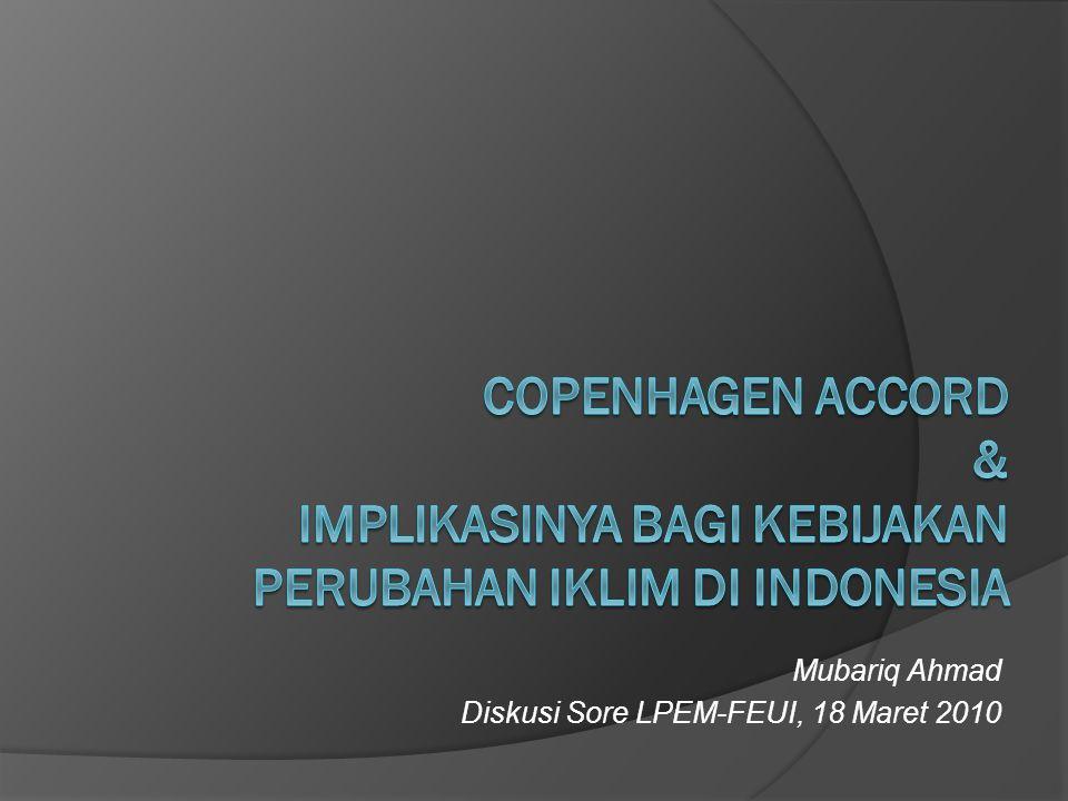 Mubariq Ahmad Diskusi Sore LPEM-FEUI, 18 Maret 2010