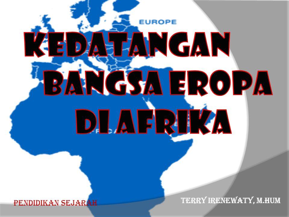 •Nasib Bangsa Afrika tidak di tangan Bangsa Afrika sendiri, tetapi ditentukan oleh bangsa kulit putih.