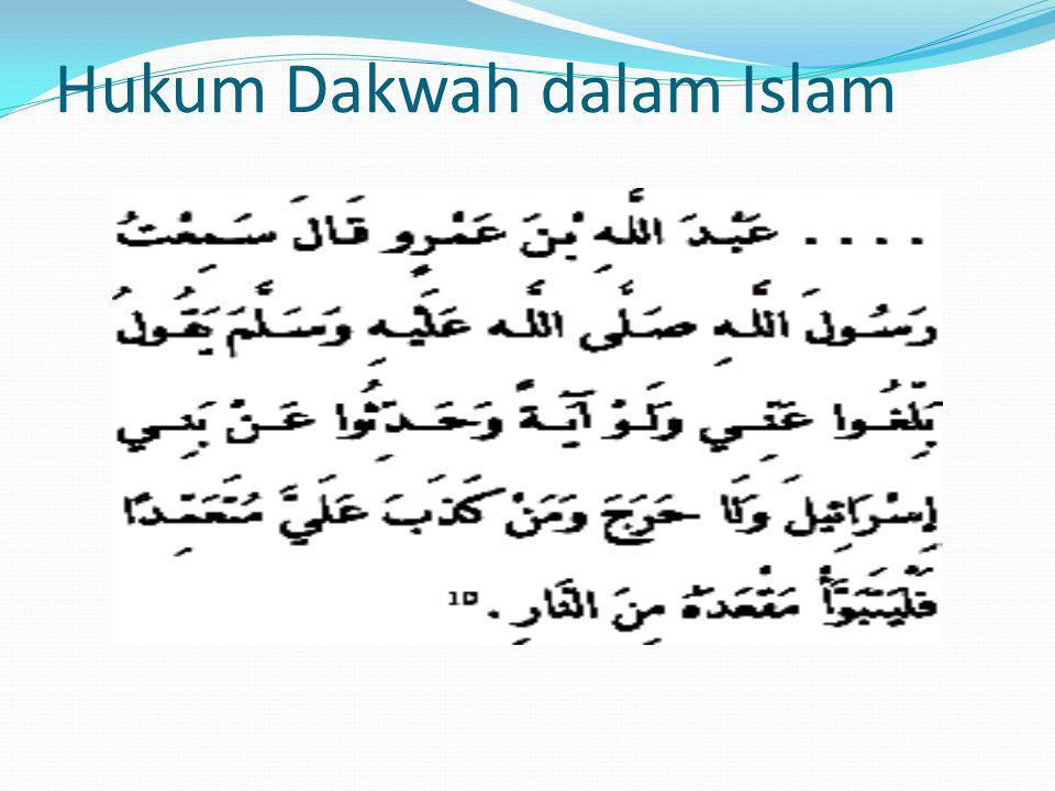 Hukum Dakwah dalam Islam