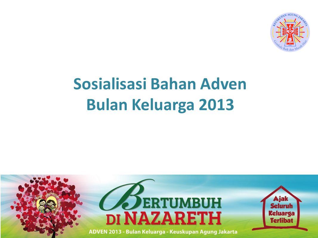 Sosialisasi Bahan Adven Bulan Keluarga 2013