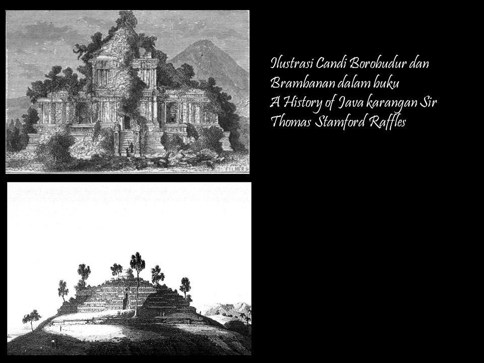 Franz Wilhelm Junghuhn (1809-1864) Dokter, Penjelajah, Naturalis, dan Peminat Arkeologi Membuat gambar litografi tentang Jawa tahun 1850an - 1960an