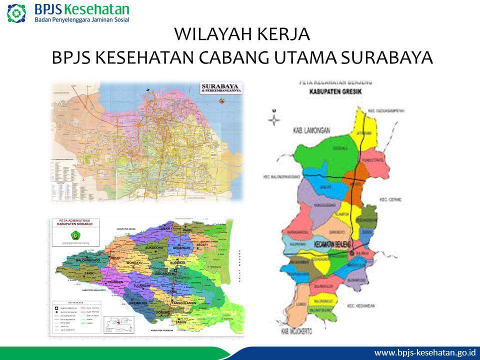www.bpjs-kesehatan.go.id WILAYAH KERJA BPJS KESEHATAN CABANG UTAMA SURABAYA