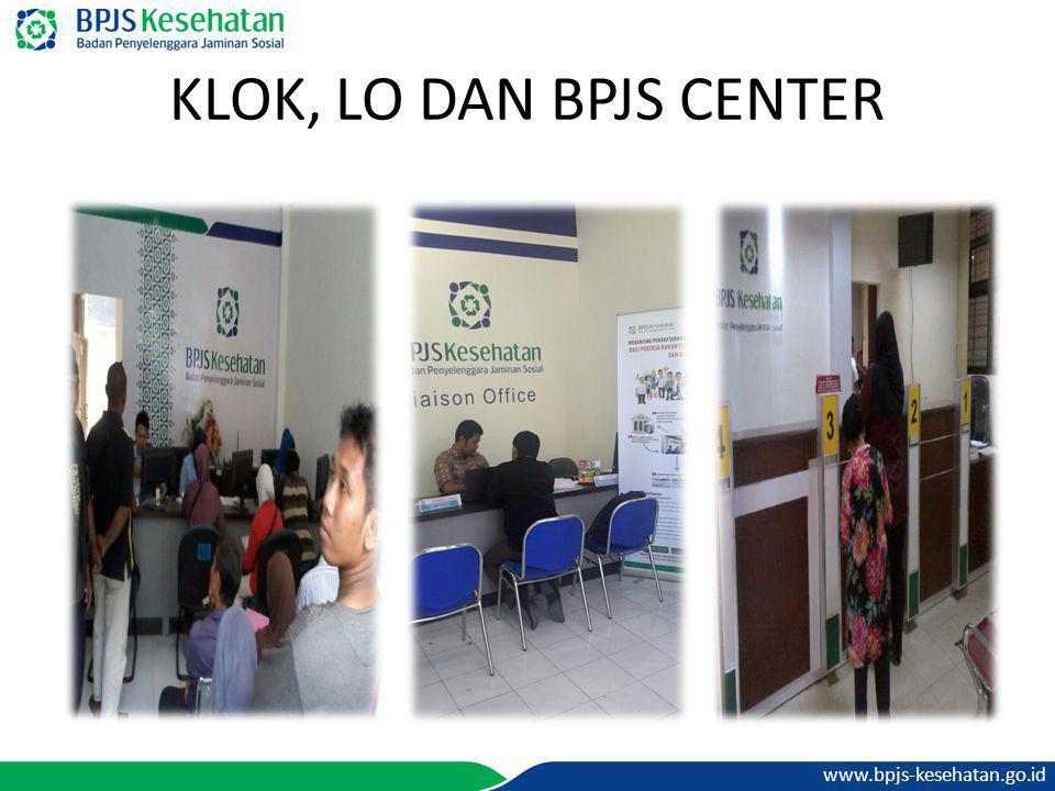 www.bpjs-kesehatan.go.id KLOK, LO DAN BPJS CENTER