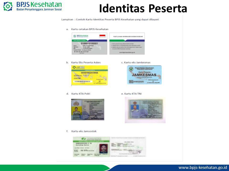 www.bpjs-kesehatan.go.id Identitas Peserta