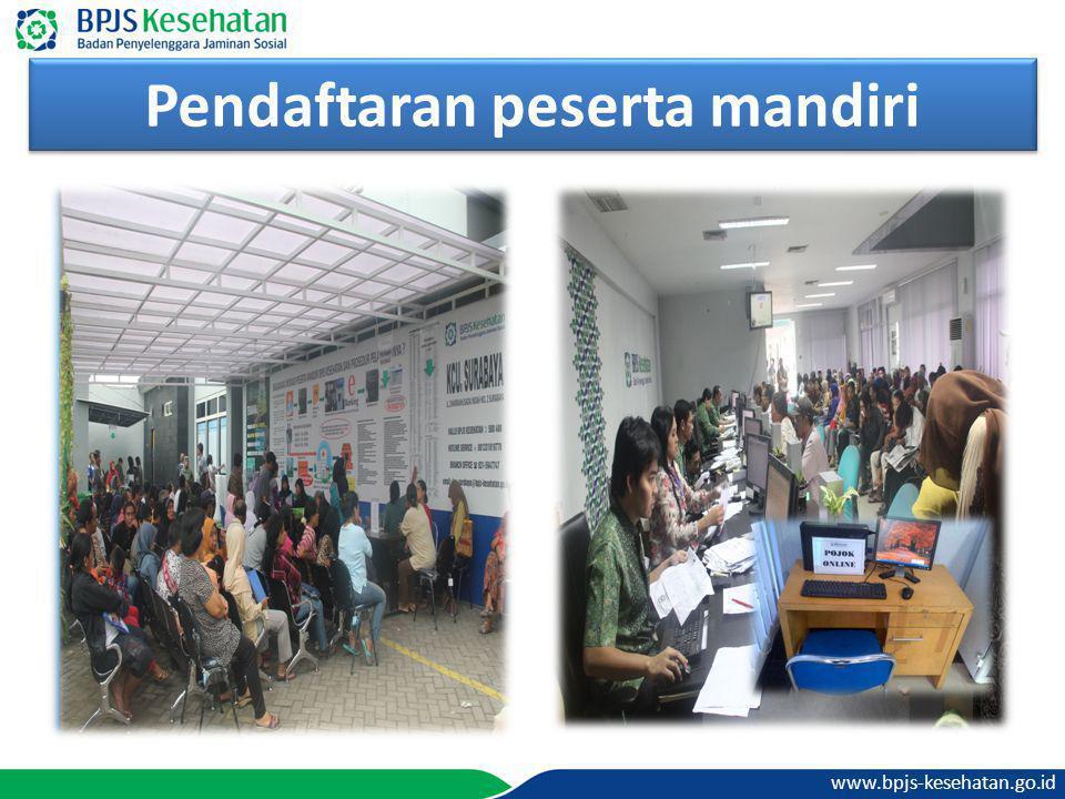 www.bpjs-kesehatan.go.id Pendaftaran peserta mandiri