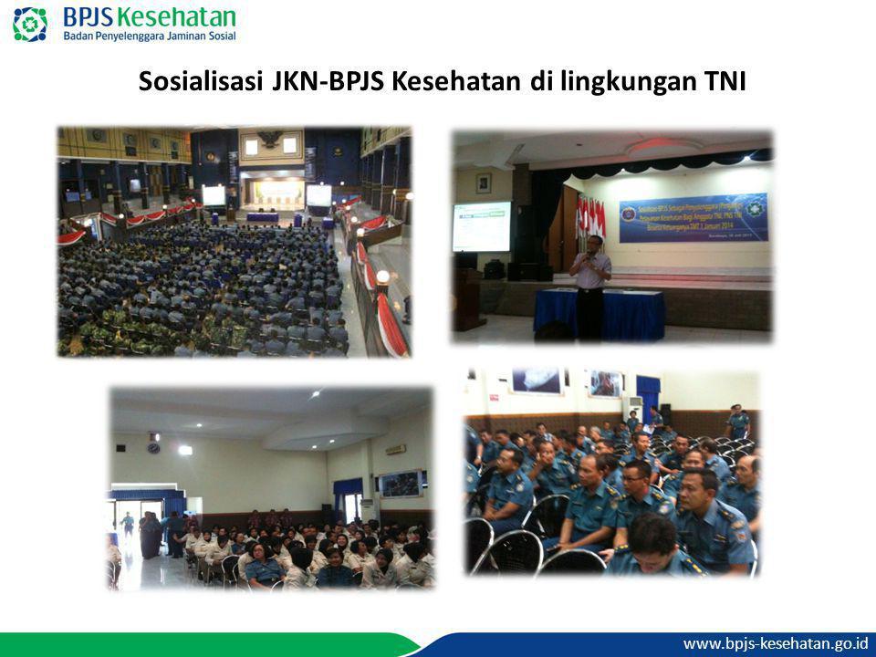 www.bpjs-kesehatan.go.id Sosialisasi JKN-BPJS Kesehatan di lingkungan TNI