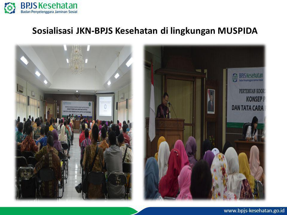 www.bpjs-kesehatan.go.id Sosialisasi JKN-BPJS Kesehatan di lingkungan MUSPIDA