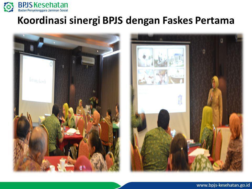 www.bpjs-kesehatan.go.id Koordinasi sinergi BPJS dengan Faskes Pertama