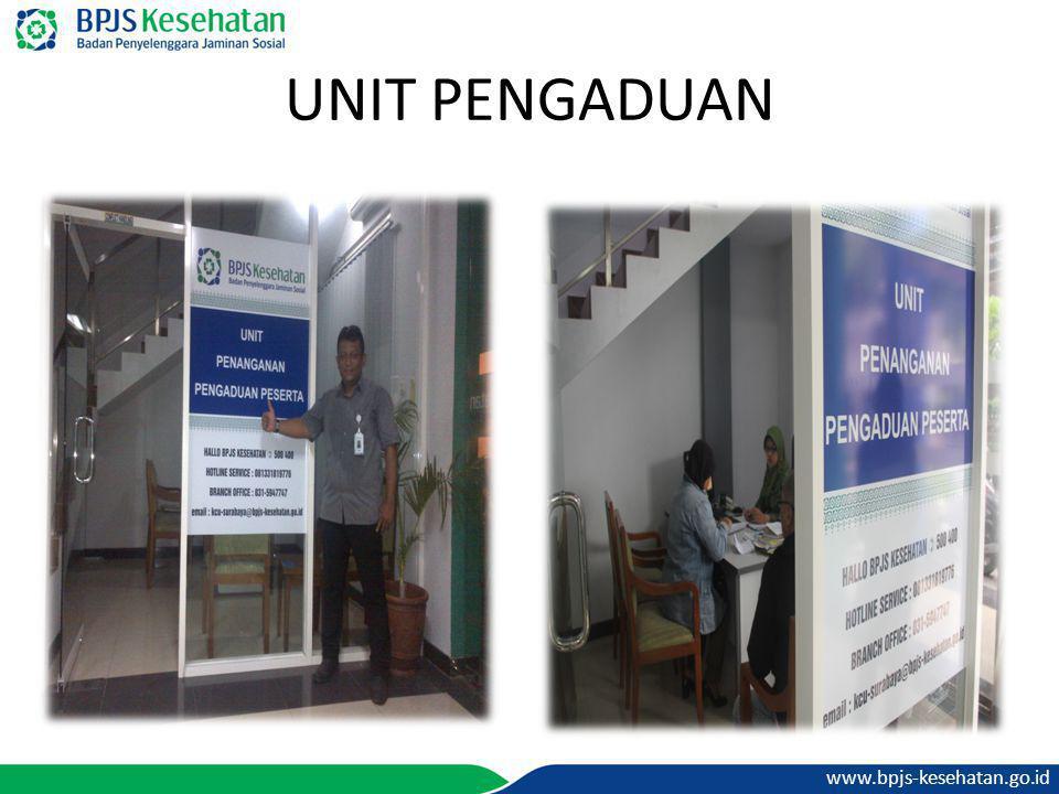 www.bpjs-kesehatan.go.id UNIT PENGADUAN