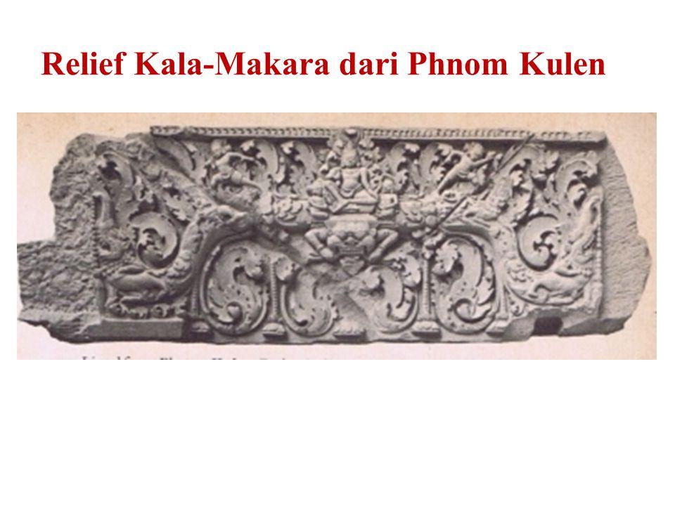 Relief Kala-Makara dari Phnom Kulen