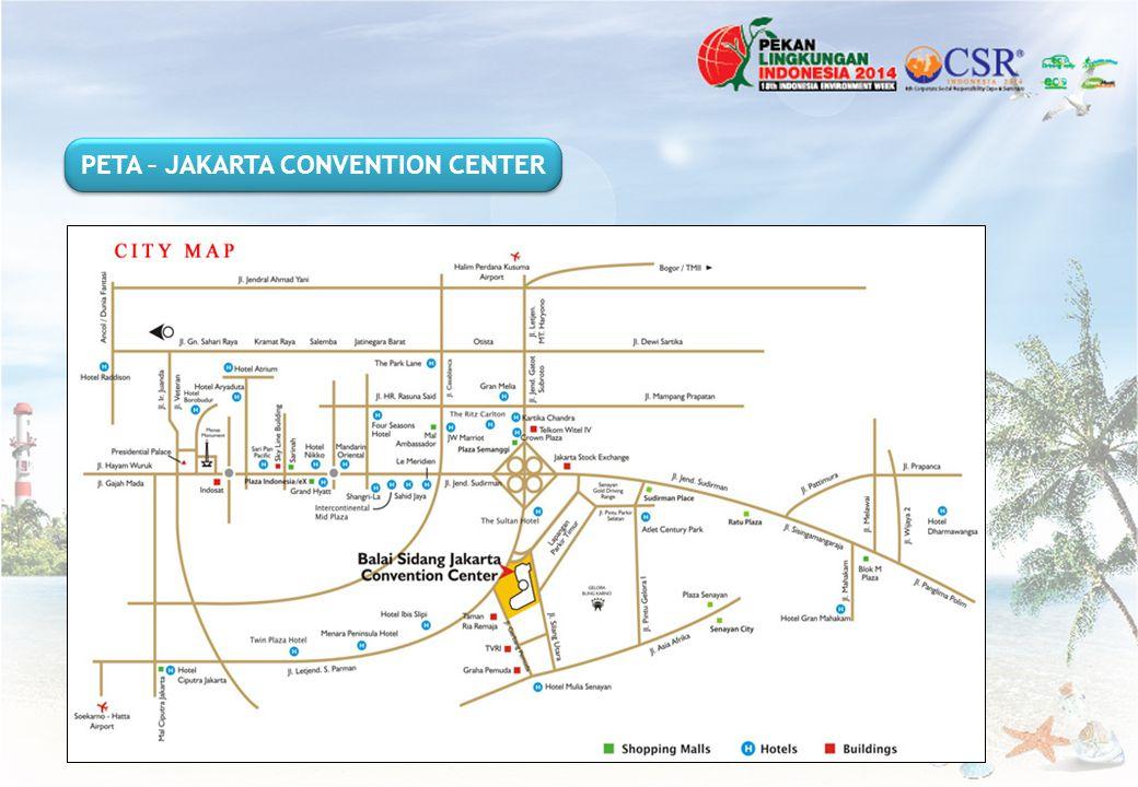 PETA – JAKARTA CONVENTION CENTER