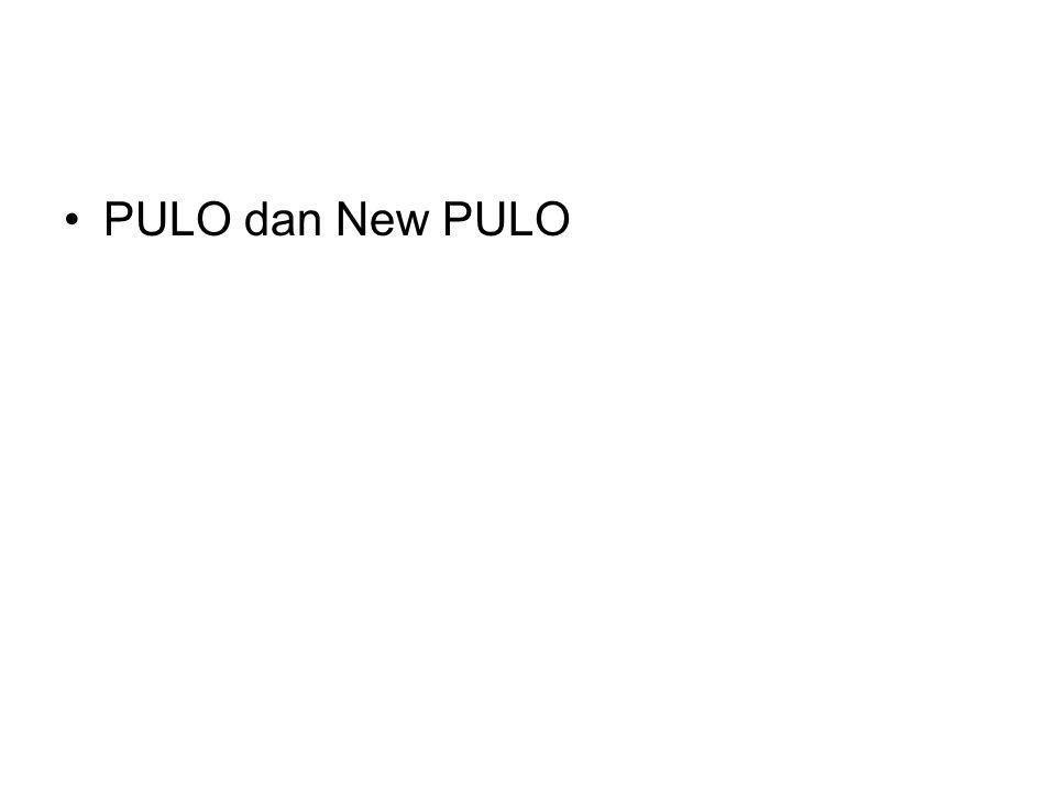 •PULO dan New PULO