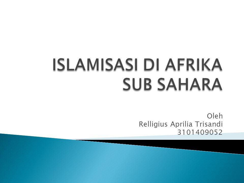 PPra Islamisasi di Afrika Utara PPada masa pra Islam di Afrika Utara telah bermukim bangsa Berber.