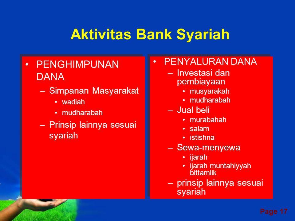 Page 16 KANTOR PUSAT BPRS KC Syariah KK Syariah - ATM, Payment Point dll Keg.
