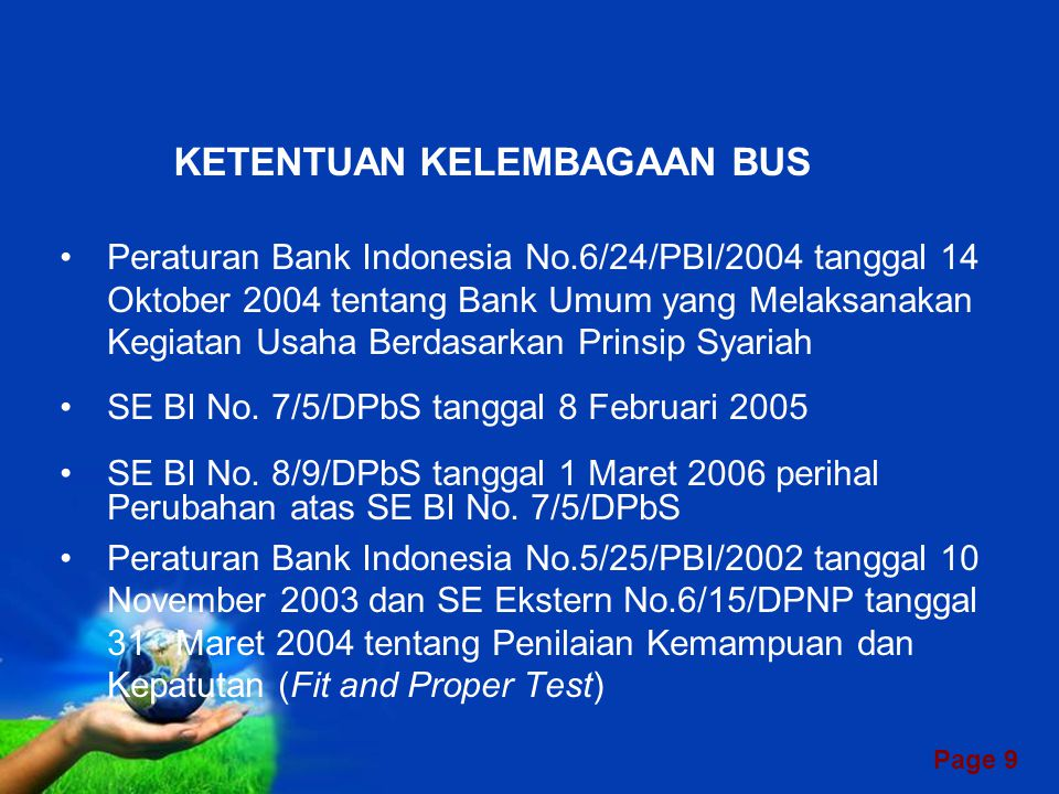 Page 8 TIPE BANK SYARIAH DI INDONESIA BANK SYARIAH BUS BUK - UUS BPRS KC BA - UUS