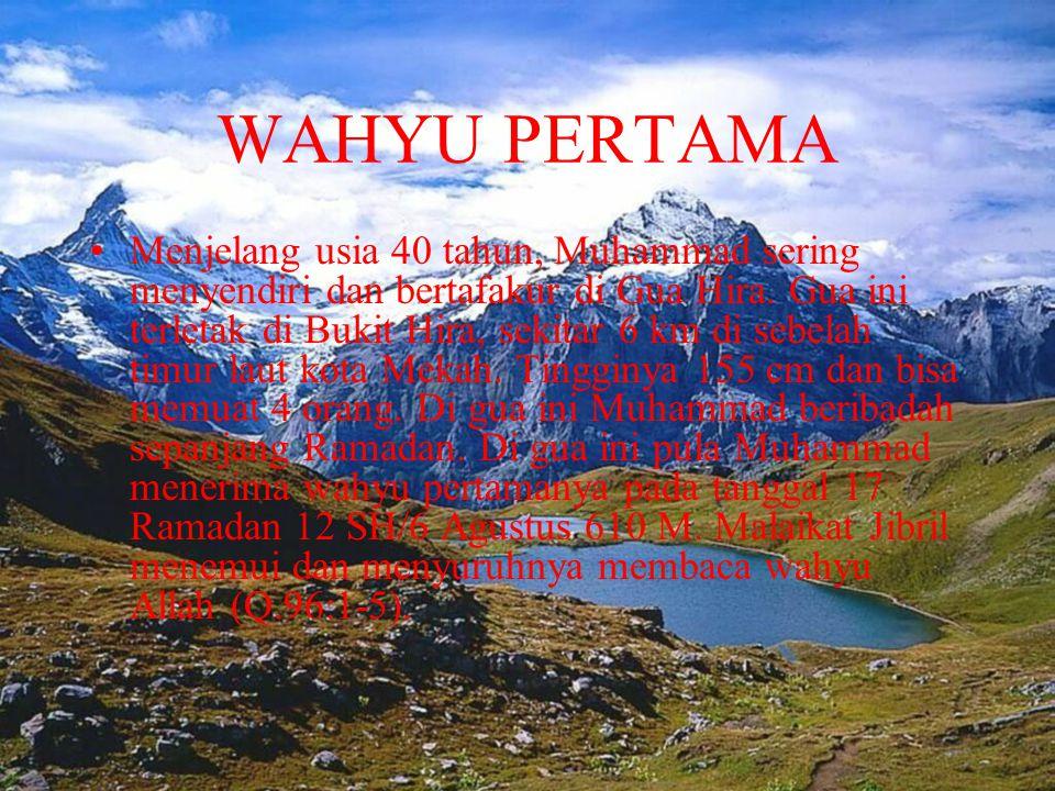 IZIN PERANG • Kendati Nabi dan pengikutnya sudah hijrah ke Madinah, orang Kuraisy terus mengganggu mereka.