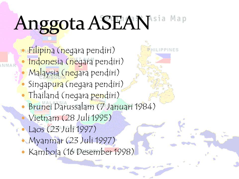  Filipina (negara pendiri)  Indonesia (negara pendiri)  Malaysia (negara pendiri)  Singapura (negara pendiri)  Thailand (negara pendiri)  Brunei