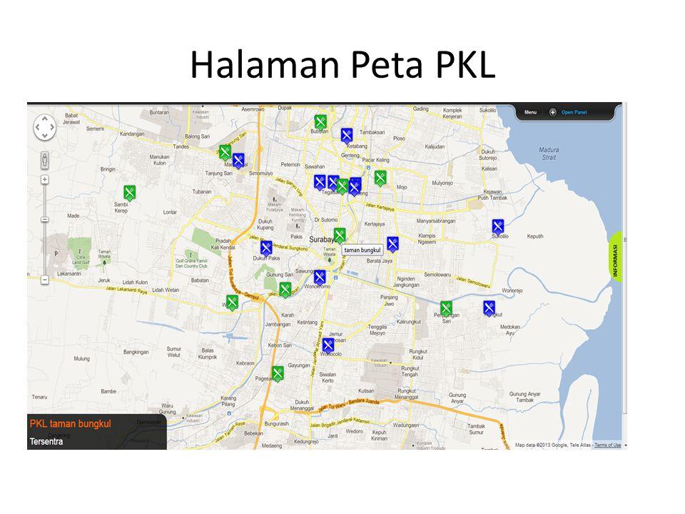 Halaman Peta PKL