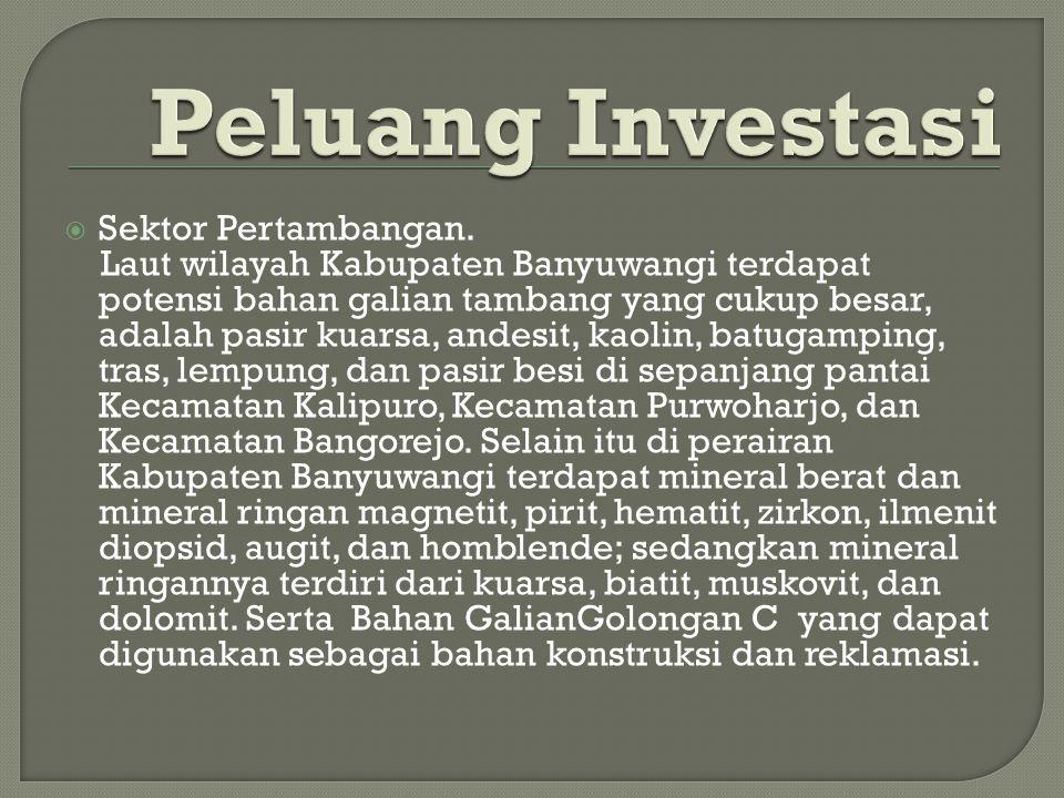  Sektor Pertambangan.