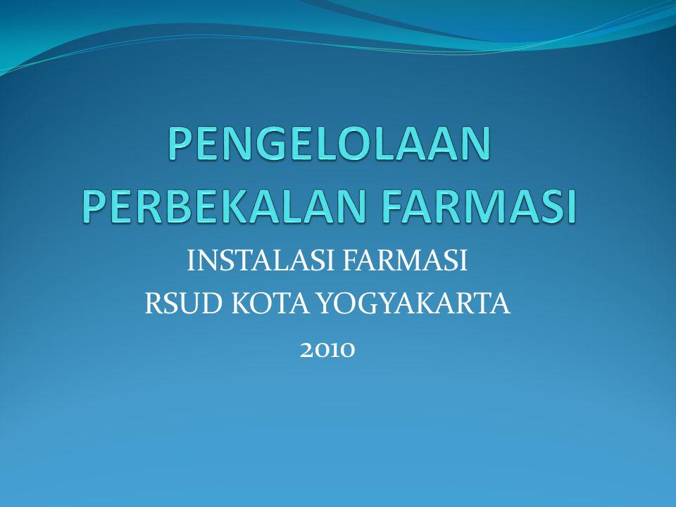 INSTALASI FARMASI RSUD KOTA YOGYAKARTA 2010