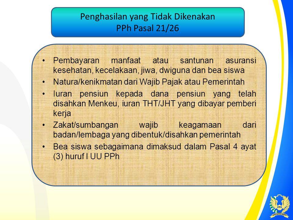 D.PPh Pasal 21 Masa Desember 2013 di Kanwil Agama Medan (2) Penghasilan Bruto Agustus s.d.