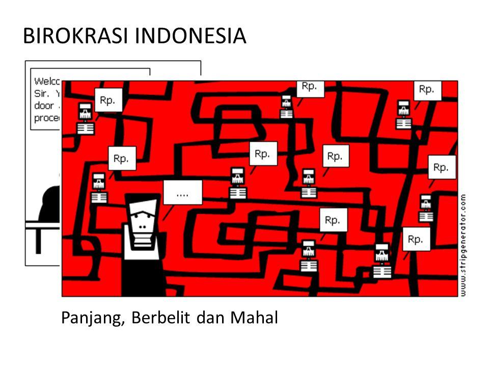 BIROKRASI INDONESIA Panjang, Berbelit dan Mahal