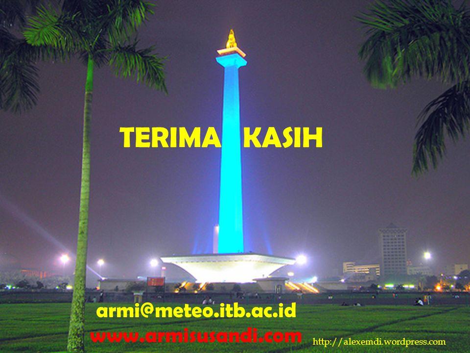 http://alexemdi.wordpress.com armi@meteo.itb.ac.id www.armisusandi.com TERIMA KASIH