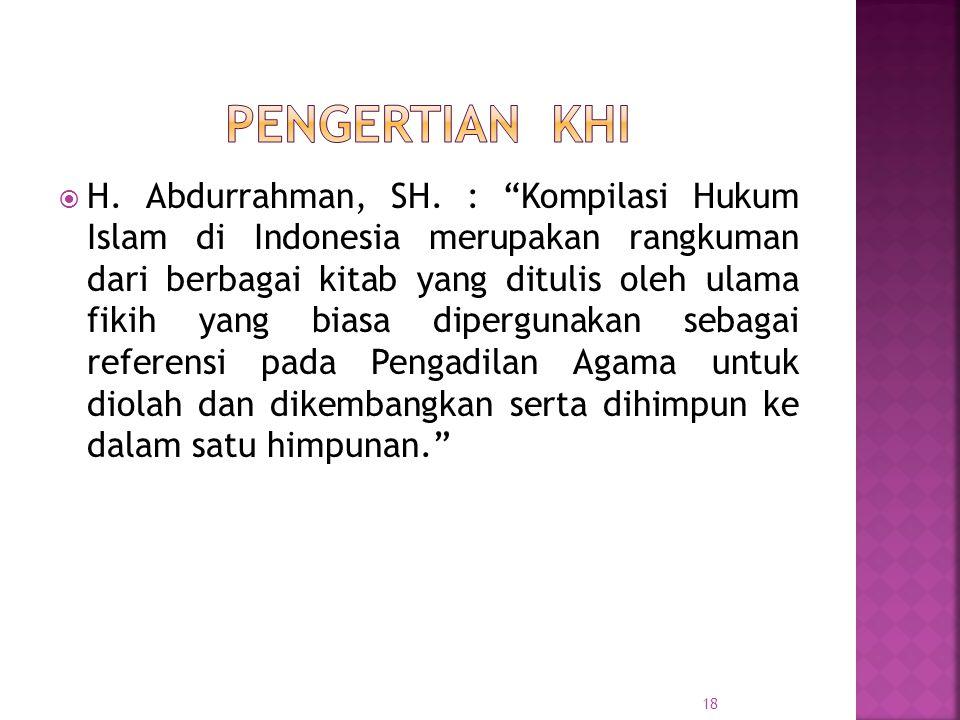 18  H.Abdurrahman, SH.