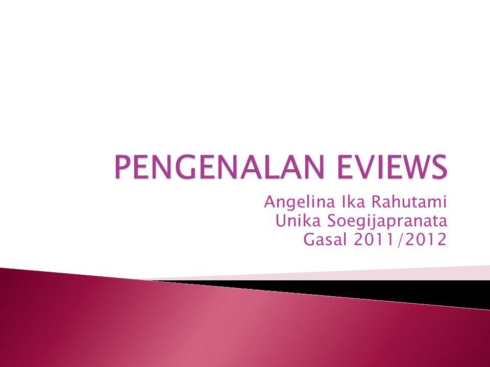 Angelina Ika Rahutami Unika Soegijapranata Gasal 2011/2012