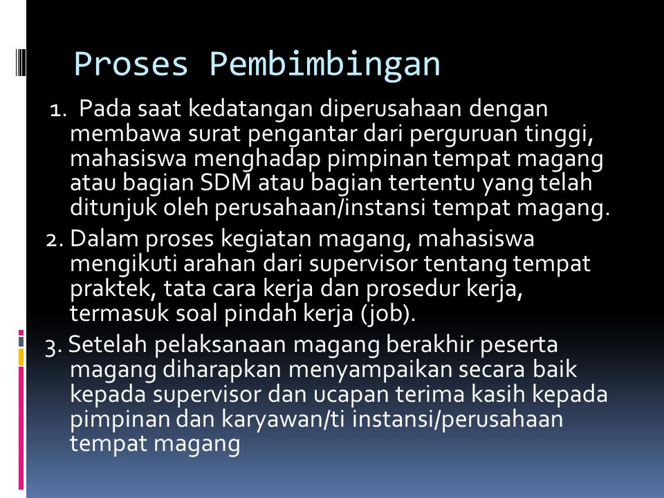 Proses Pembimbingan 1.