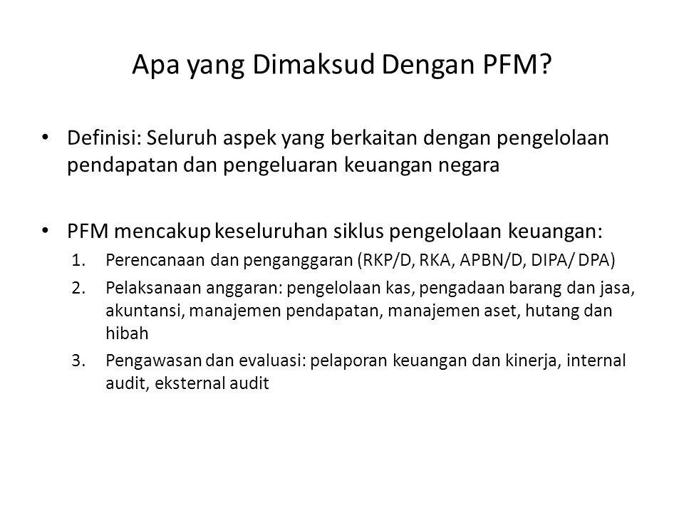 Apa yang Dimaksud Dengan PFM.