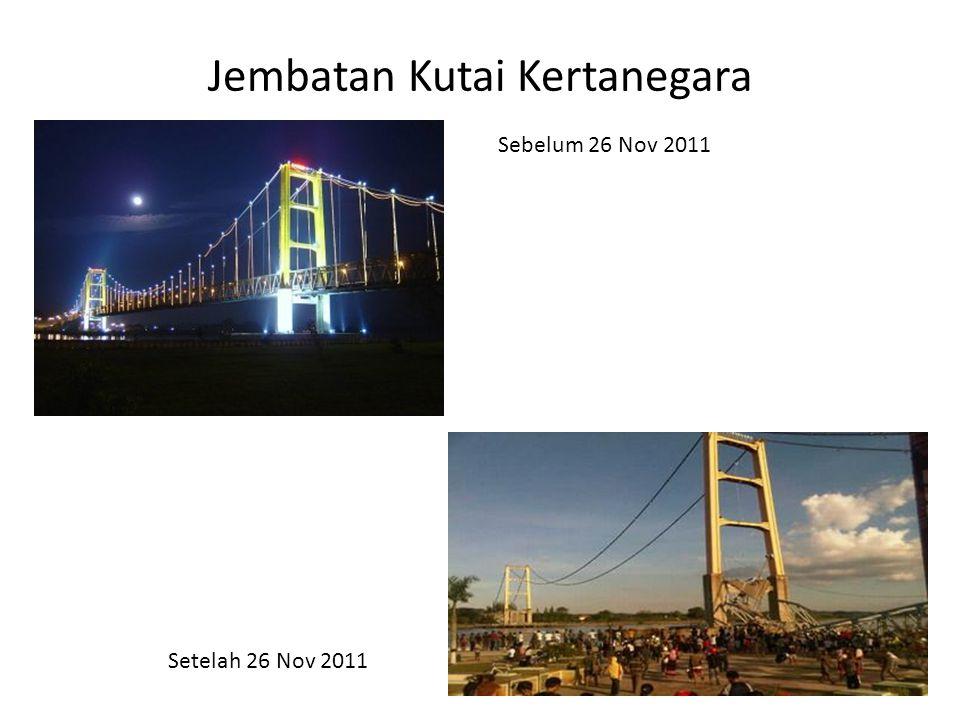 Jembatan Kutai Kertanegara Sebelum 26 Nov 2011 Setelah 26 Nov 2011