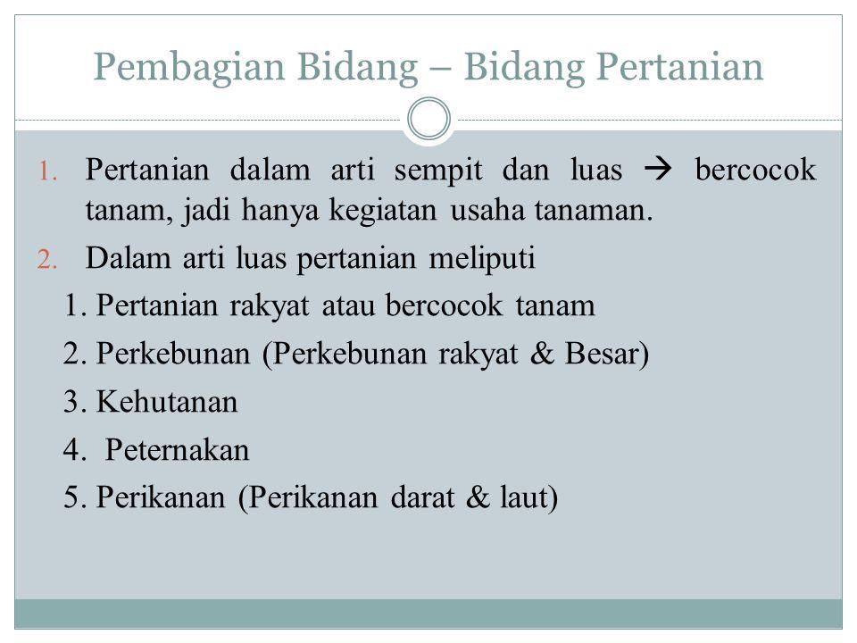 Berikut komoditas pangan dan bahan pokok lainnya yang masih diimpor Indonesia pada Januari-Juni 2013: 1.