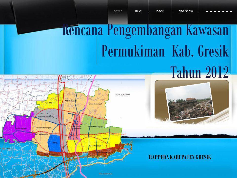Rencana Pengembangan Kawasan Permukiman Kab.
