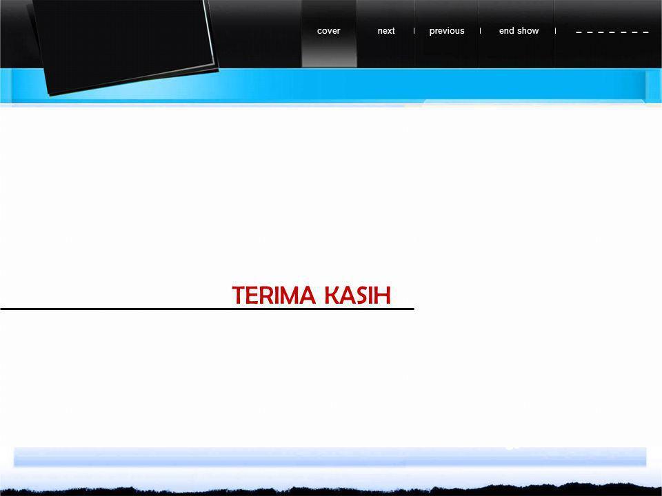 previousnextend showcover - - - - - - - TERIMA KASIH