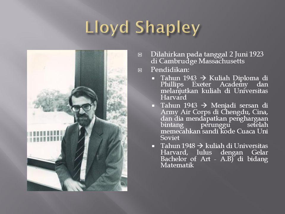 Setelah bekerja 1 tahun di Rand Coporation, beliau kembali mengambil Gelar Doktor di Princeton University pada tahun 1953.