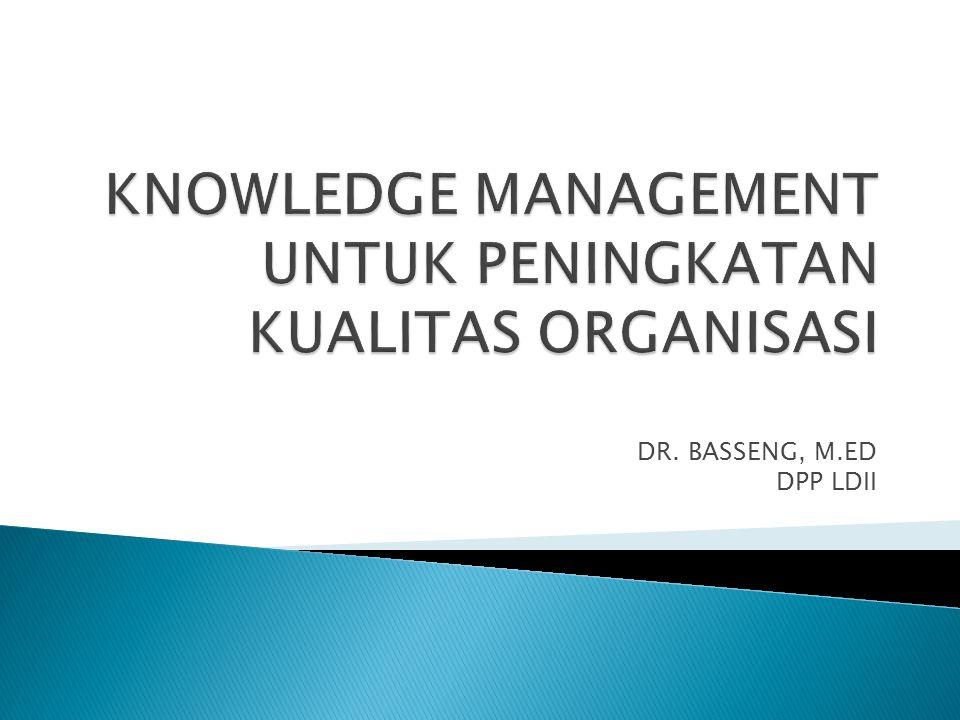 DR. BASSENG, M.ED DPP LDII