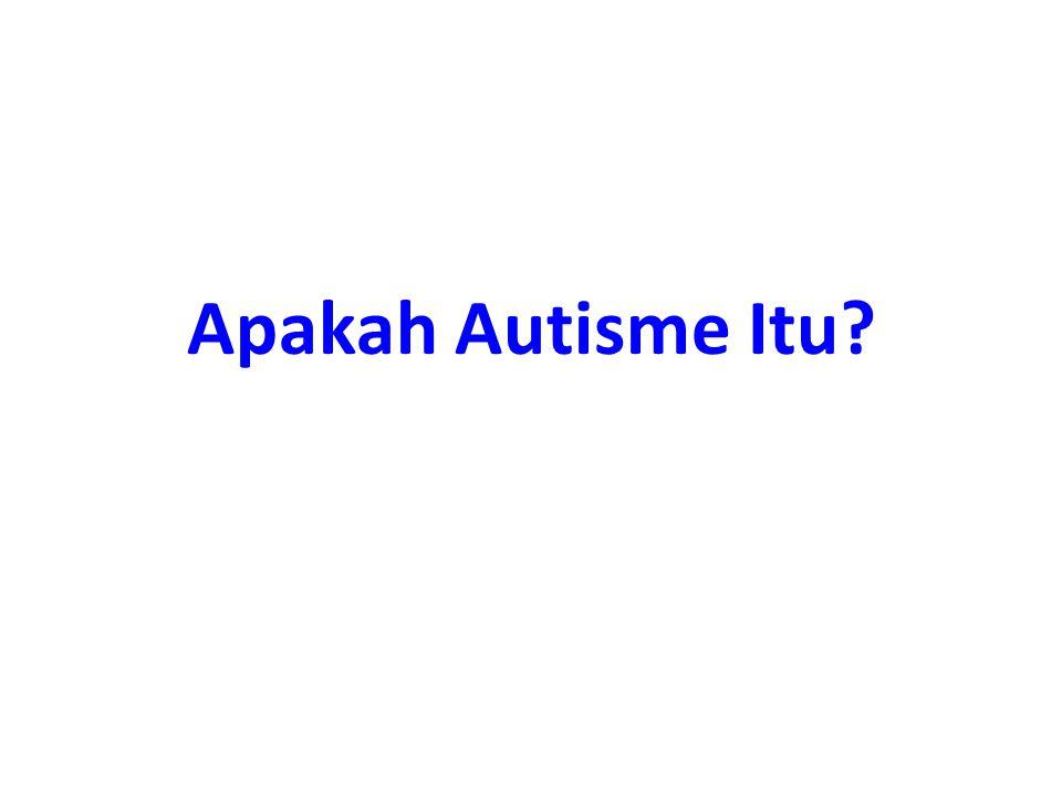 Apakah Autisme Itu?
