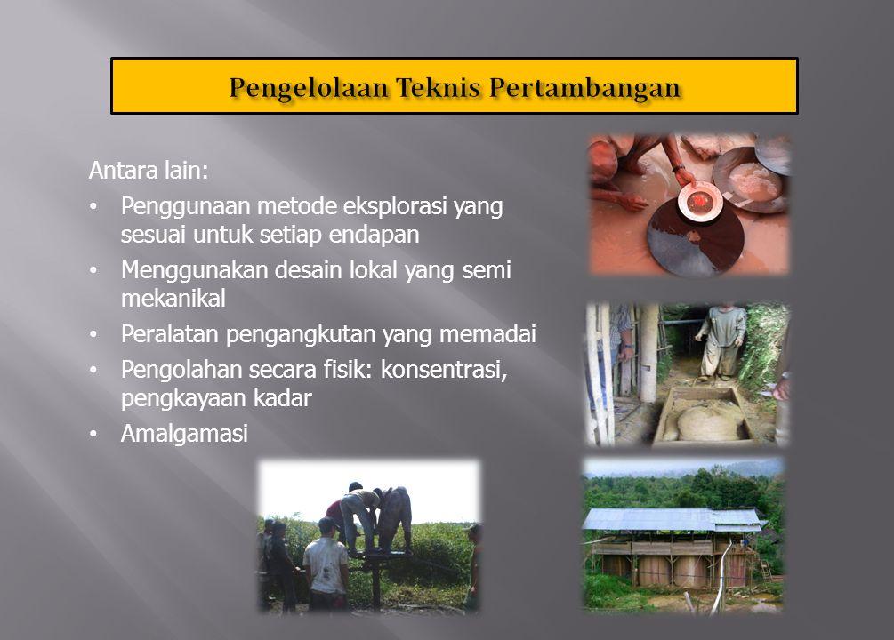 Meliputi: a.keselamatan dan kesehatan kerja b.pengelolaan lingkungan hidup c.pasca tambang