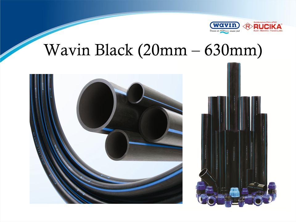 Wavin Black (20mm – 630mm)