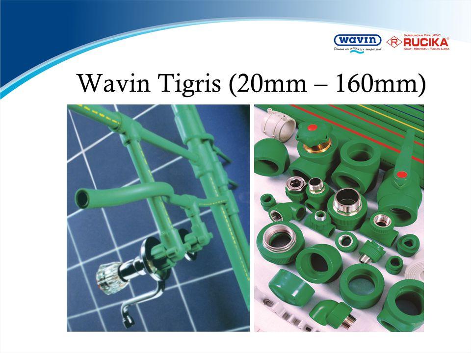 Wavin Tigris (20mm – 160mm)