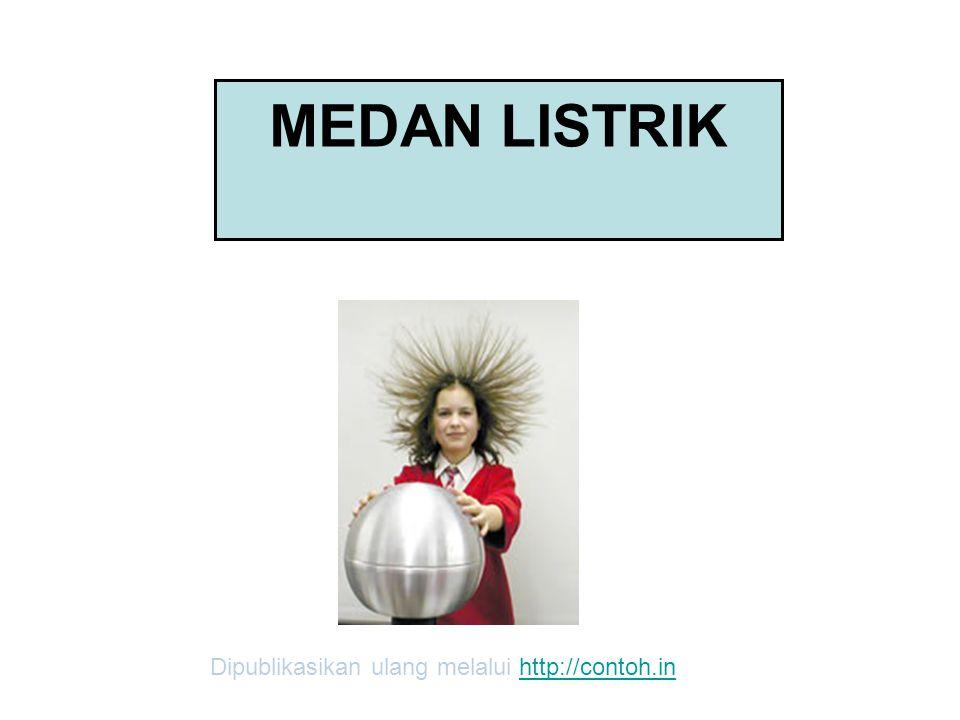 MEDAN LISTRIK Dipublikasikan ulang melalui http://contoh.inhttp://contoh.in